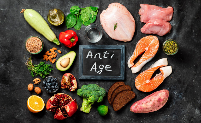 Healthy Aging with Vitamin and Supplements